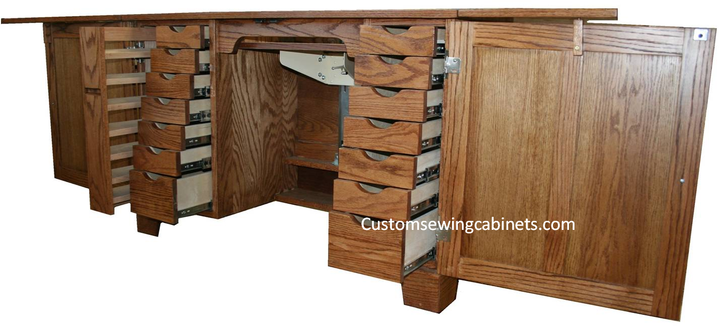 Sewing Furniture and Sewing Cabinets custom made